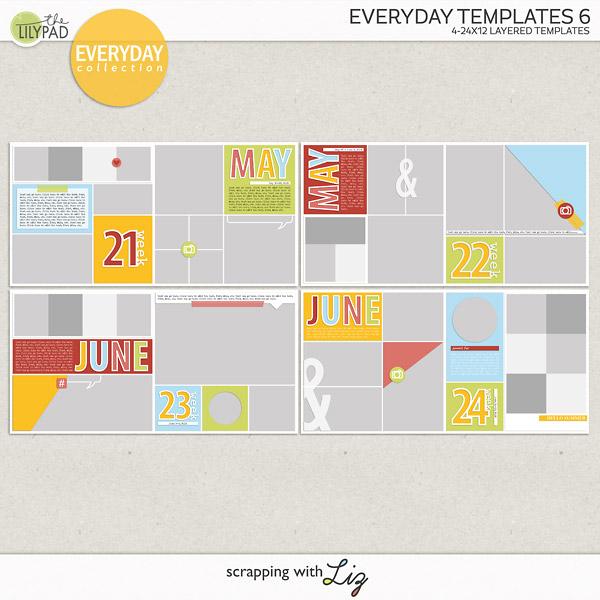 Take Me To Everyday Templates 6