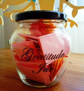 My gratitude jar
