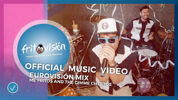 """Me Fritos And The Gimme Cheetos release video for """"Eurovision MIX"""""""