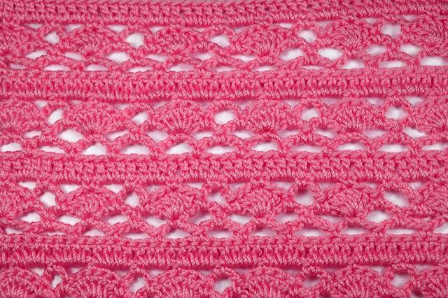 3 -Crochet Imagen Puntada combinada para jerseys a crochet y ganchillo por Majovel Crochet