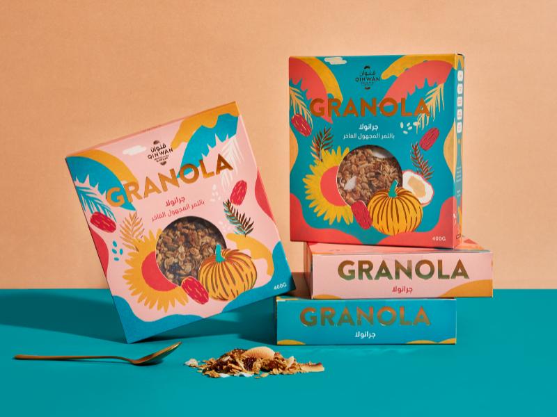 Qinwan Premium Dates – Granola Cereal
