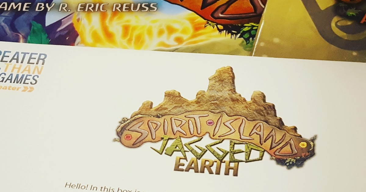 That's What Jenni Said: Spirit Island Jagged Earth Preview: A First Look at the New Kickstarter Expansion from Greater Than Games image
