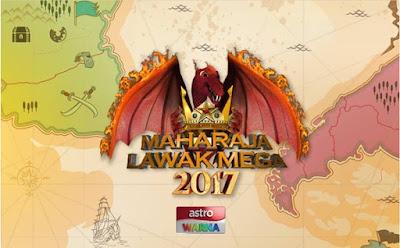 Senarai Penuh Peserta Maharaja Lawak Mega 2017