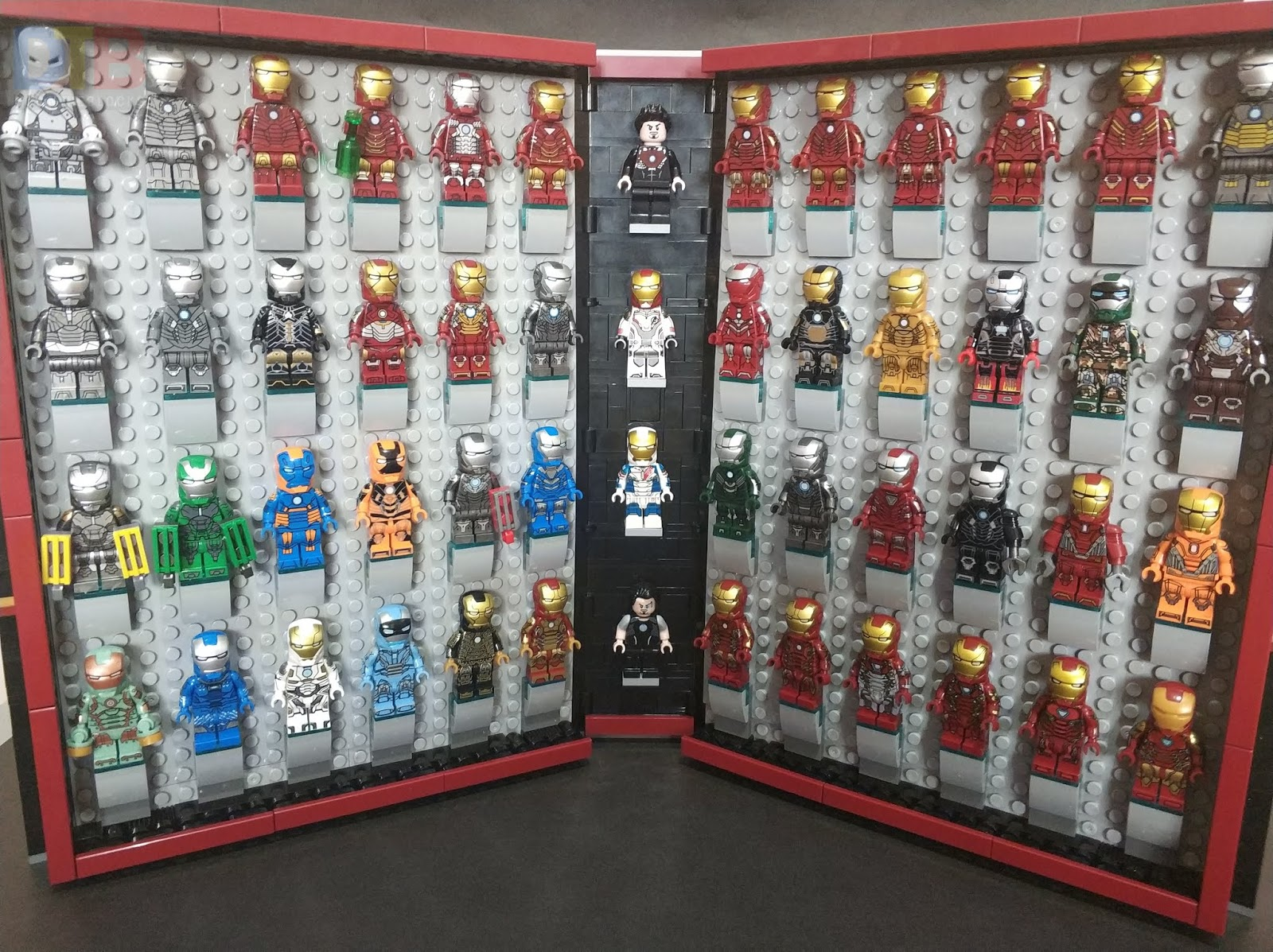 Custom Minifigure iron man Marvel collection lego iron man MK30 MK29 MK25 MK35