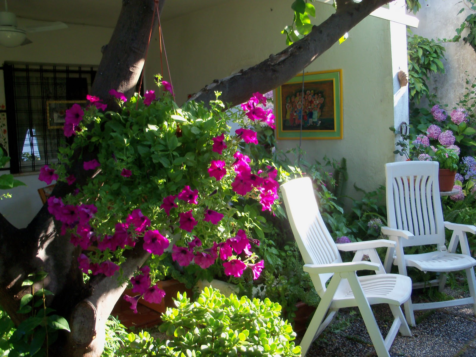Fantasia tunni il mio giardino fiorito for Giardino fiori