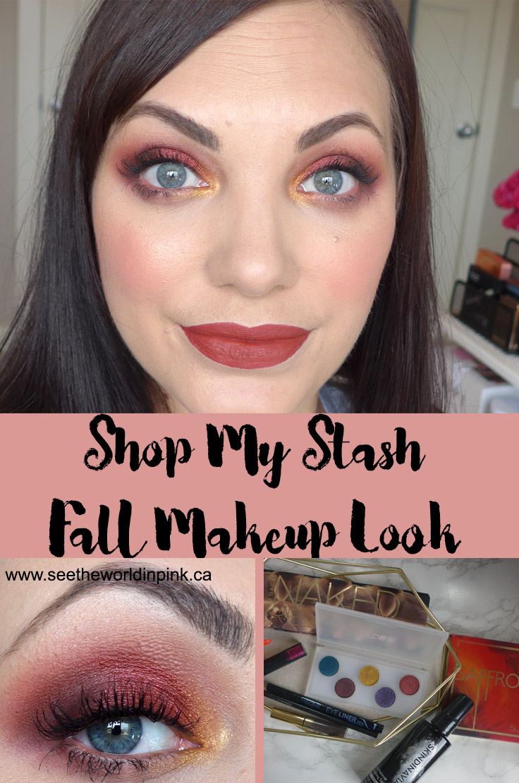 September Shop My Stash - Warm Red Fall Look