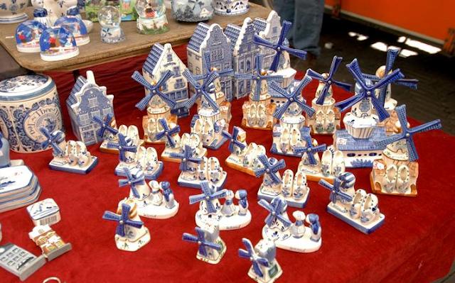 Delft Blue para comprar lembrancinhas e souvenirs em Amsterdã
