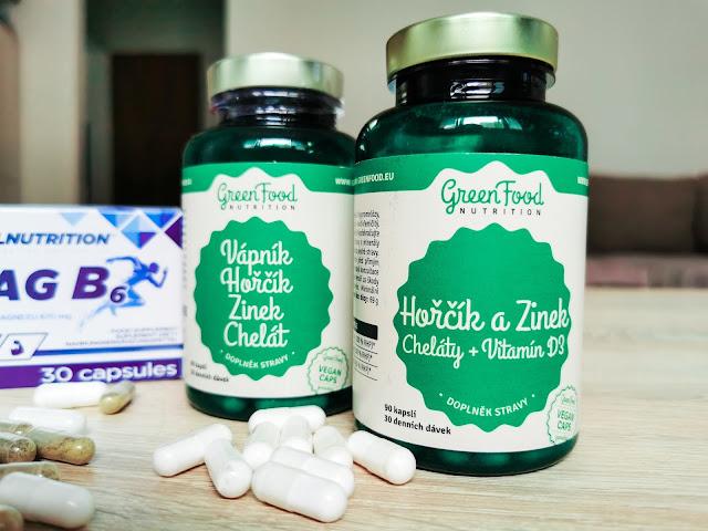 Muscleagresive GreenFood minerály ako doplnok stravy