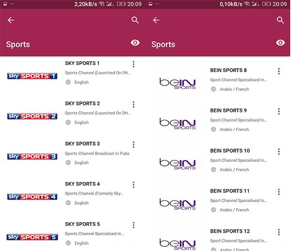 شرح  برنامج Mobdro لتشغيل اغلب القنوات العالمية و الرياضية على هاتفك