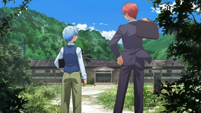 Movie yang menjadi kompilasi series Ansatsu Kyoushitsu, dengan penambahan epilog scene dimana memperlihatkan Nagisa dan Karma dan mengambil waktu di hari sebelum reuni kelas di akhir manga yaitu tujuh tahun setelah kelulusan mereka.