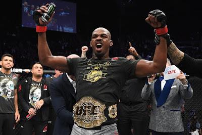 Jon Jones UFC light Heavyweight Champion