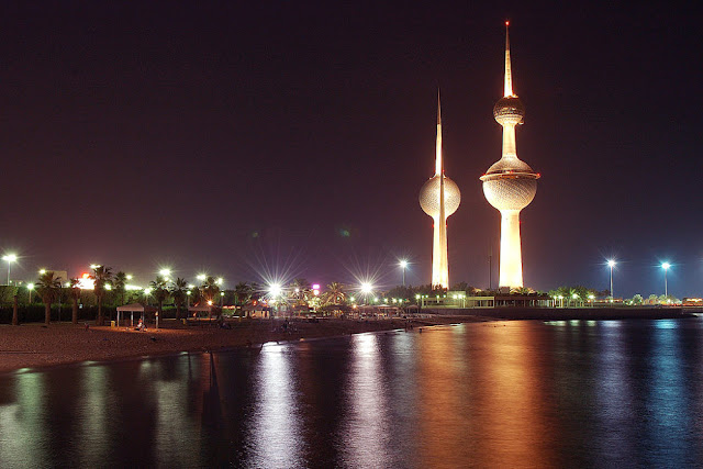Image Attribute: Kuwait Towers at Night / Source: Flickr/Creative Commons