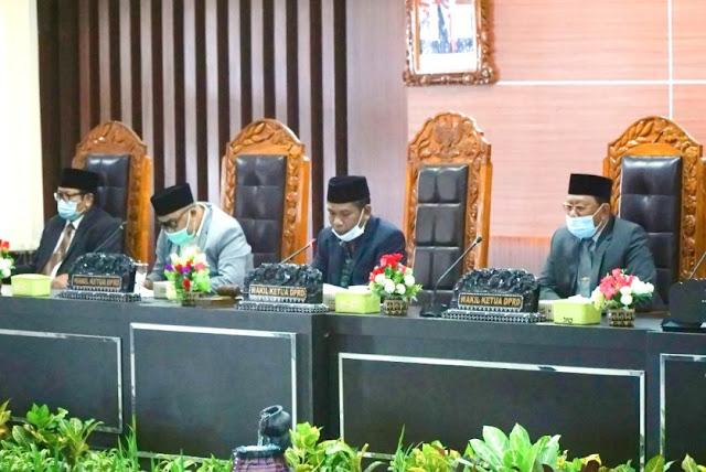 Bupati tanggapi tiga Raperda Inisiatif Dewan