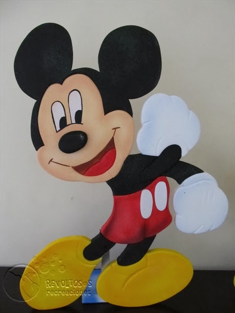 DECORACION FIESTAS INFANTILES MICKEY MOUSE 5 RECREACIONISTAS MEDELLIN