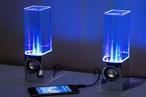 Loa nghe nhạc vi tính Phun nước 3D theo điệu nhạc giá sỉ và lẻ rẻ nhất 01140