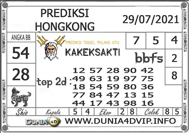 Prediksi Togel HONGKONG DUNIA4D 29 JULI 2021
