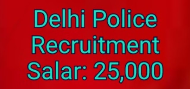 Delhi police recruitment 2020: apply online total post 5846 check notification, constable, head constable posts