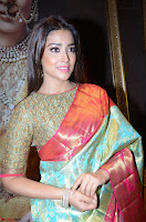 Shriya Saran Looks Stunning in Silk Saree at VRK Silk Showroom Launch Secundrabad ~  Exclusive 015.JPG