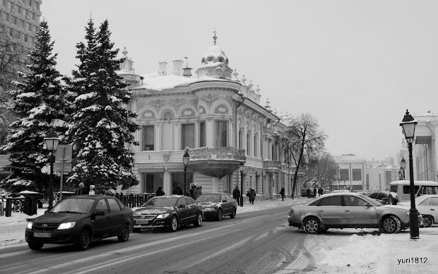 Дом Ушковой на Кремлевской улице.