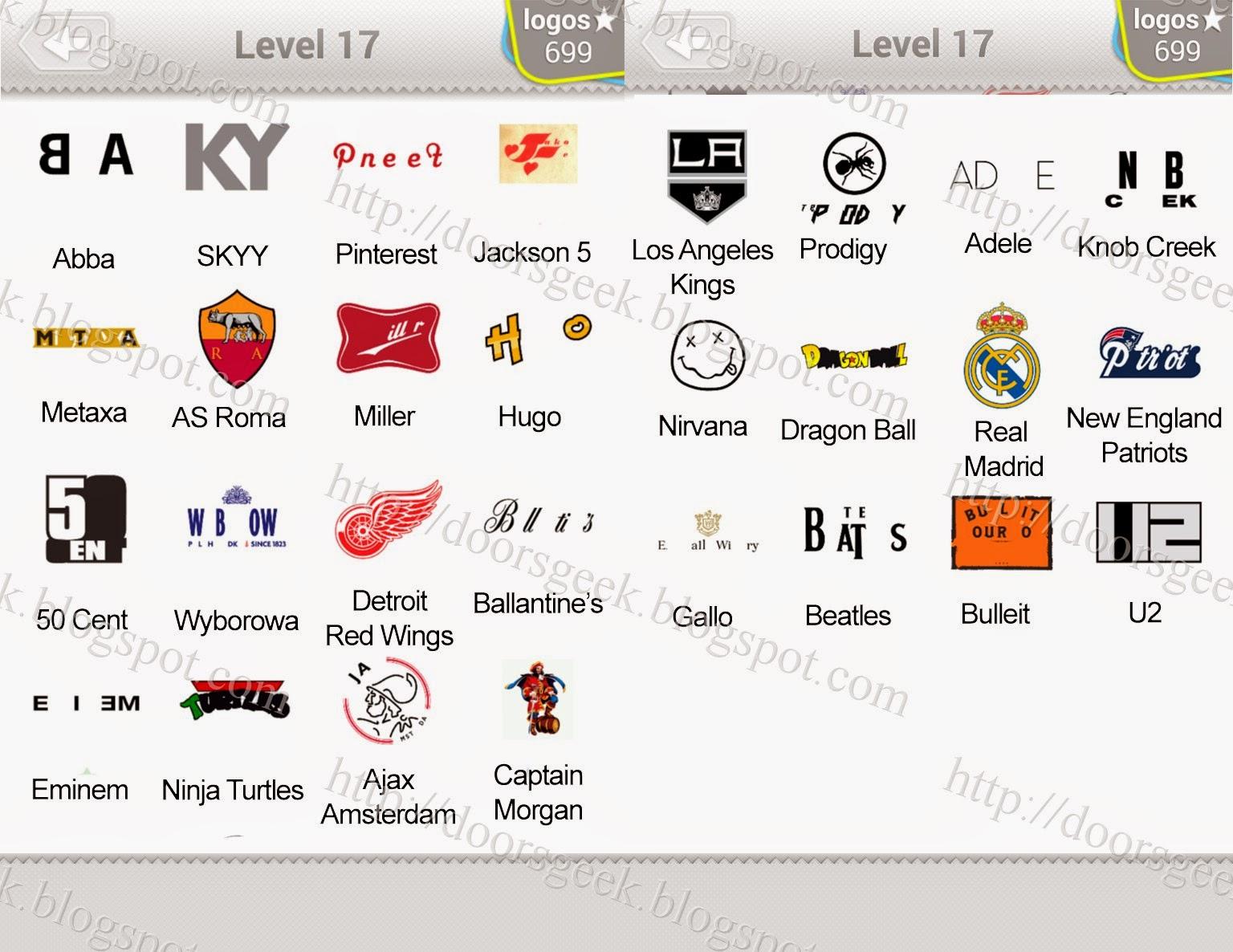 Logo quiz fashion answers sports brand logos quiz logo quiz - Logo Quiz Level 17 Answers By Bubble Quiz Games Answers