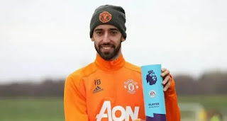 Bruno Fernandes dominate Manchester United's Player of the Month awards