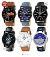 Best watches combo( pack of 6 ) under ₹550 |82% off lootlo