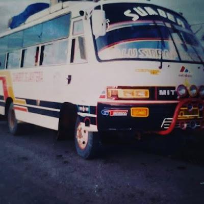 Bus Sumber Sejahtera Mitsubishi