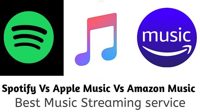 spotify vs apple music vs amazon music