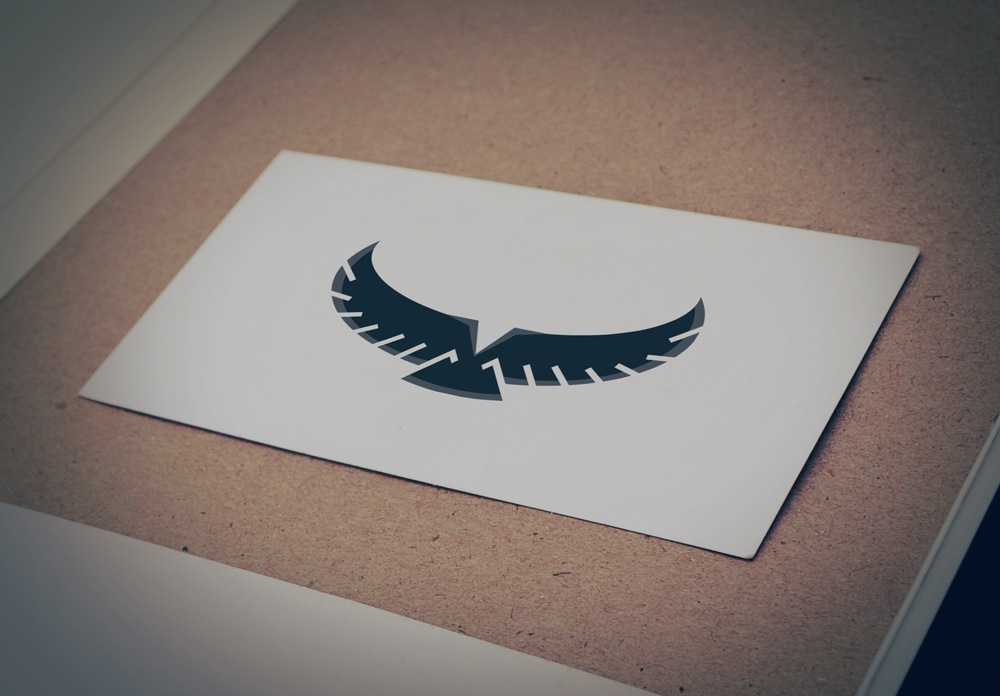 Download Free Eagle Wings Silhouette Logo for Business