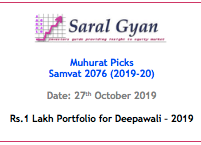 Diwali Muhurat Picks