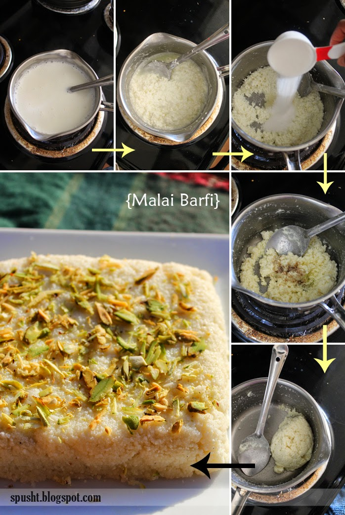 how to make malai barfi