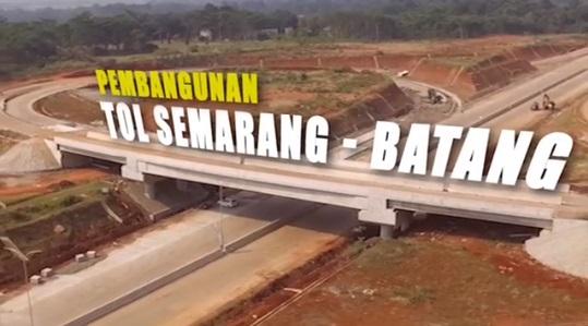 Pembangunan Tol Semarang Batang