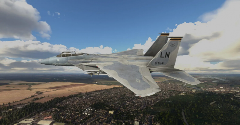 F-15 for Microsoft Flight Simulator looks amazing in new screenshots