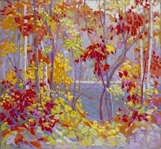 Tom Thomson painting - The Pool