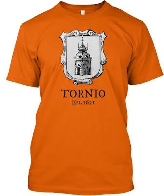 Tornio Est. 1621 t-paita - Torniopaidat