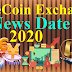 OneCoin Exchange News Date 2020