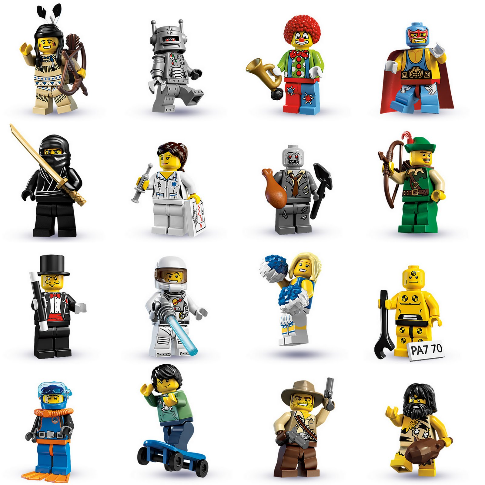 Lego Minifiguras En Espanol