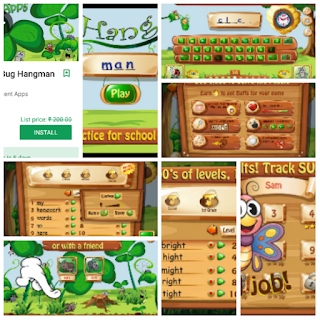 Spelling Bug Hangman Kids app paid version free download here