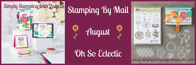 Stamping By Mail - Card classes delivered to your door so you can create in the comfort of your own home when the time suites - All projects comes with instructions and a colour photo. New classes released every month. See what it is all about here - http://www.simplystampingwithnarelle.com/p/stamping-by-mail.html
