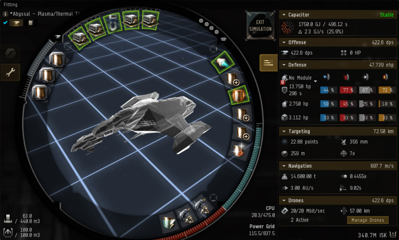 Eve online gila ratting fit
