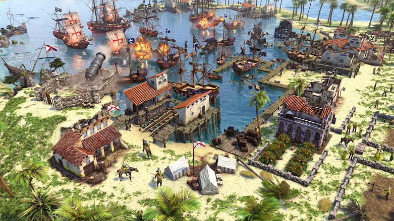 Age of Empires 3 Definitive Edition: another greatre scene