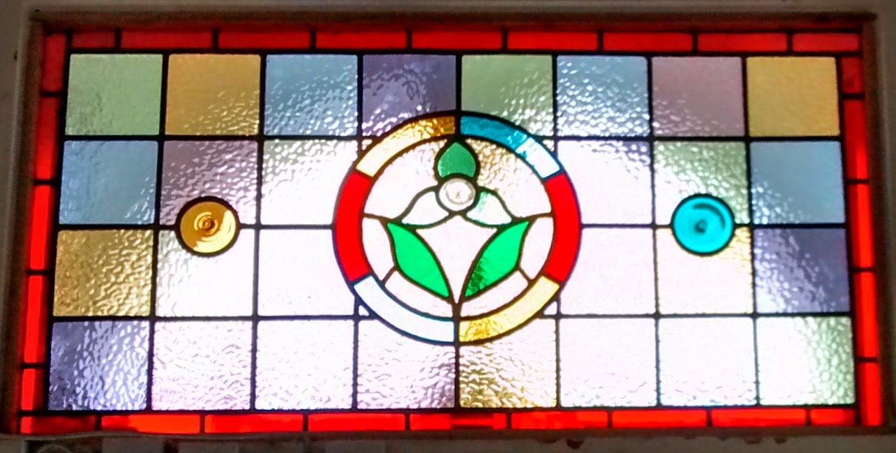 New stained glass Sydenham SE26