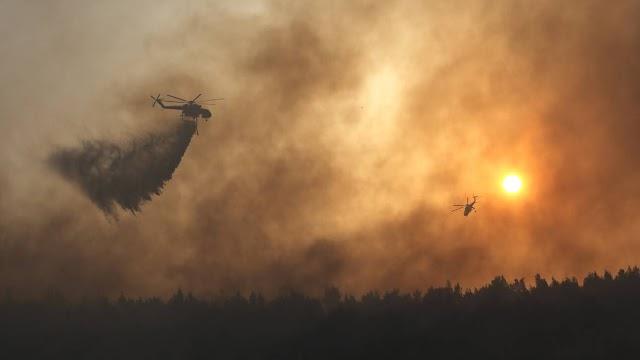 Ρόδος: Κάηκαν 10.000 στρέμματα- Ξεκίνησε η καταγραφή των ζημιών