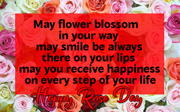 rose day quotes with image