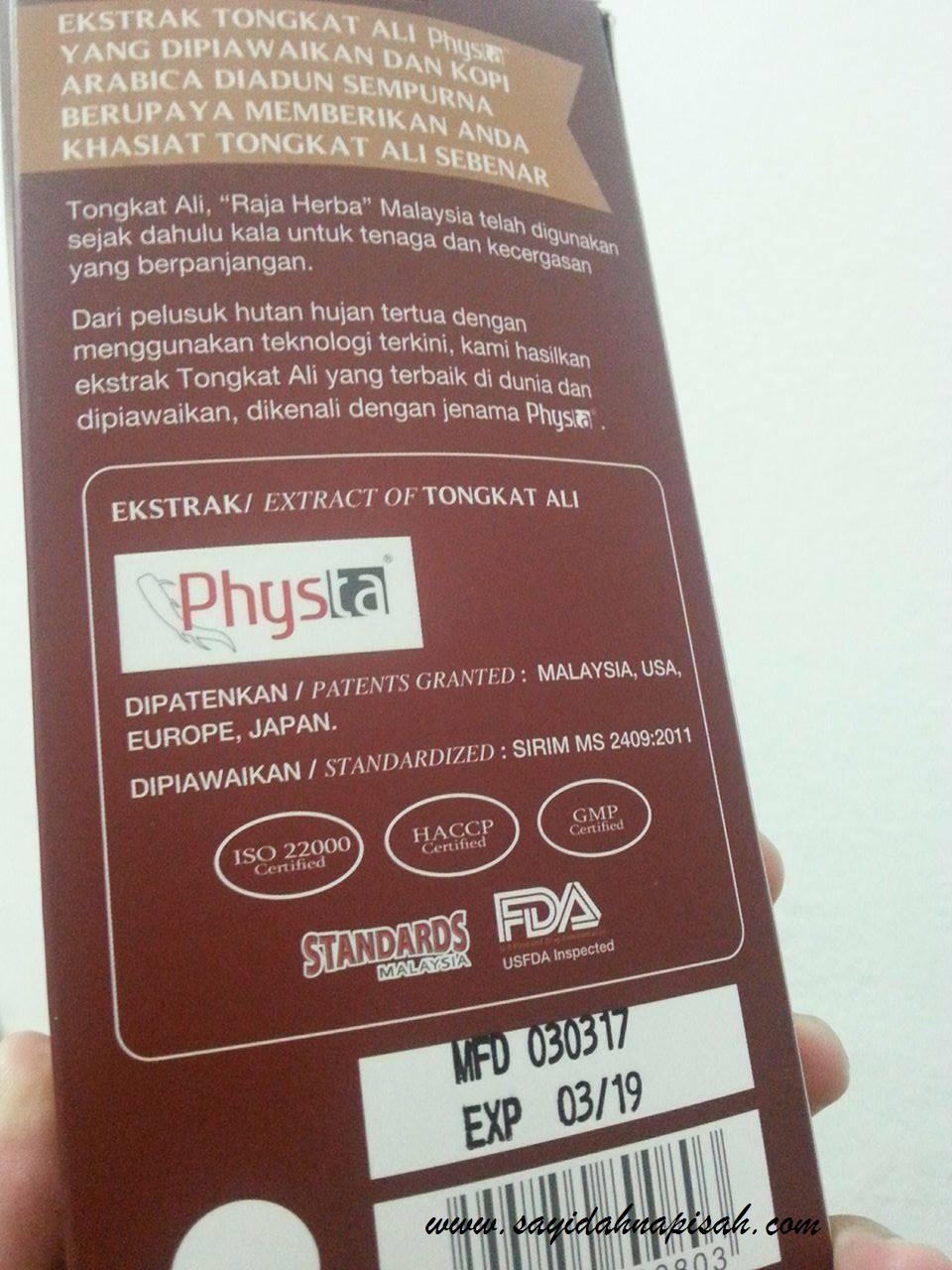 physta nucaffe