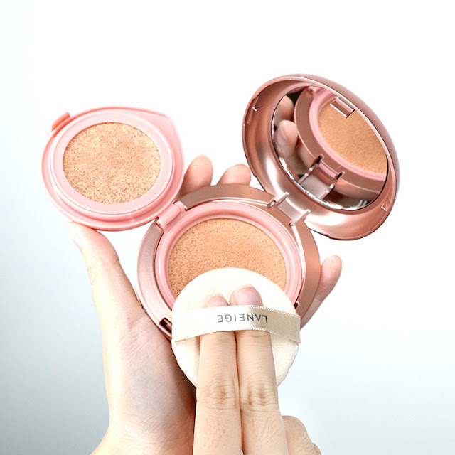 Laneige Layering Cover Cushion & Concealing Base