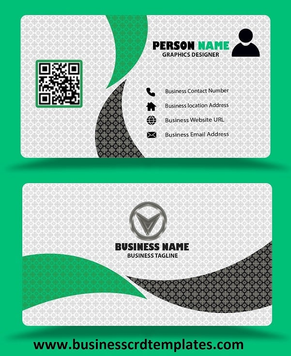 transport visiting card design free download