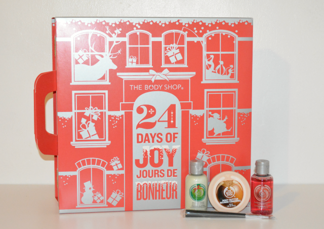 The Body Shop advent calendar, Christmas 2014