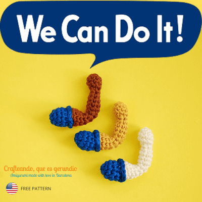 amigurumi-free-pattern-rosie-the-riveter-arm-crochet-brooch