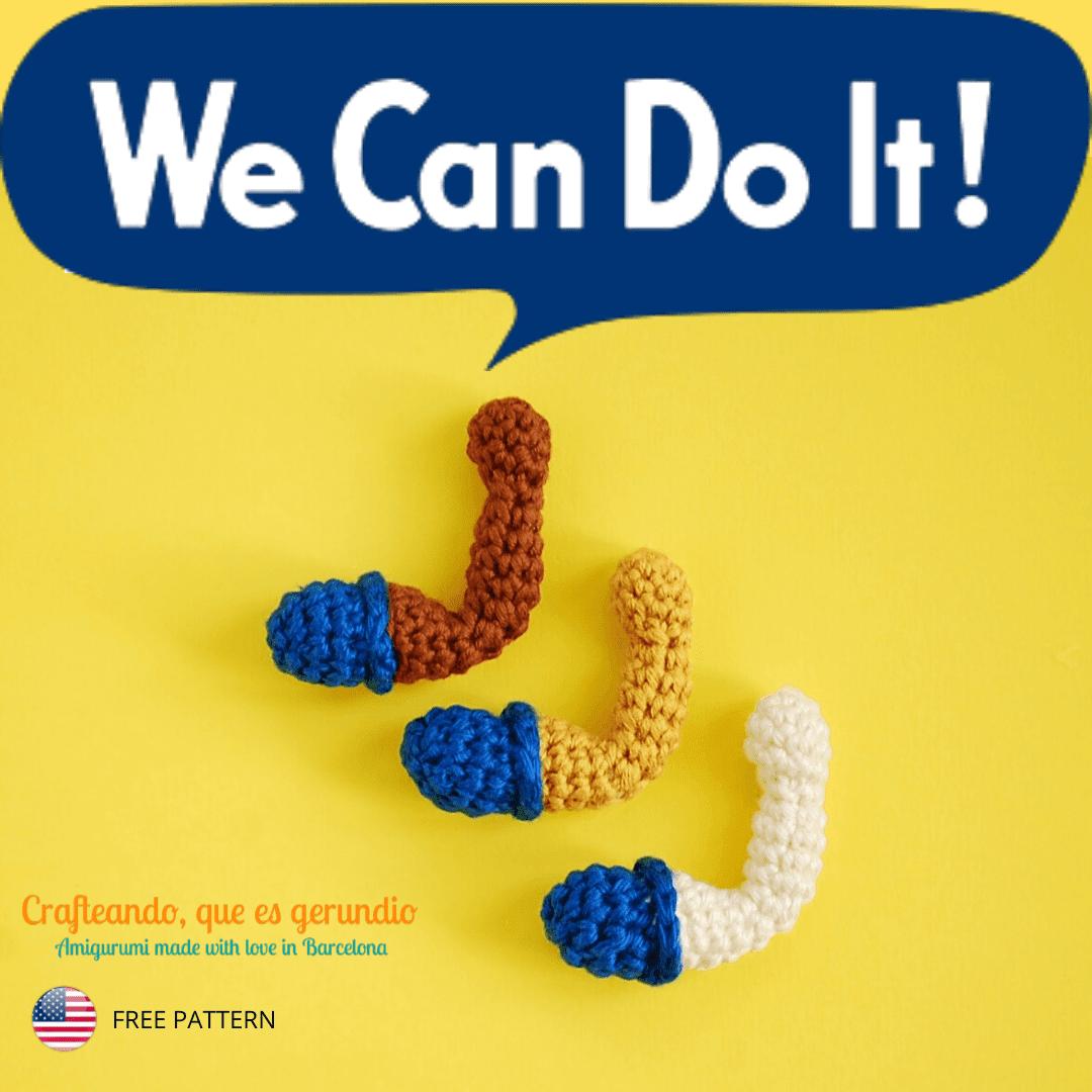 Patron Forky Crochet PDF   Juguetes de ganchillo, Patrones ...   1080x1080